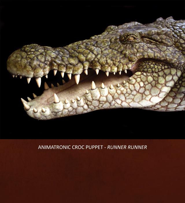 Creative Character Engineering Animatronic Crocodile