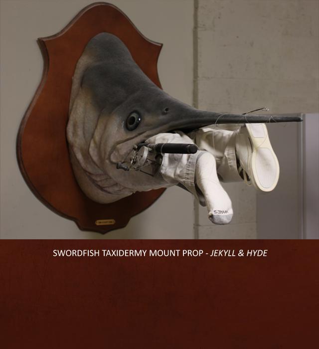Creative Character Engineering Swordfish Prop