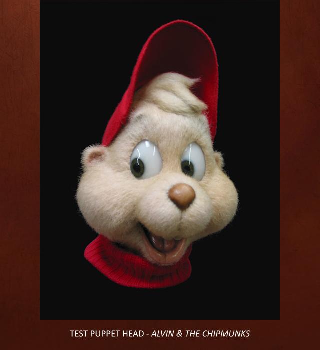 Engineering animatronic alvin puppet alvin and the chipmunks