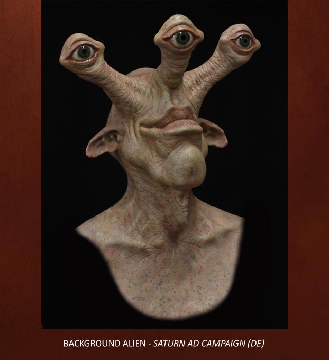 Creative Character Engineering Animatronic Alien Mask