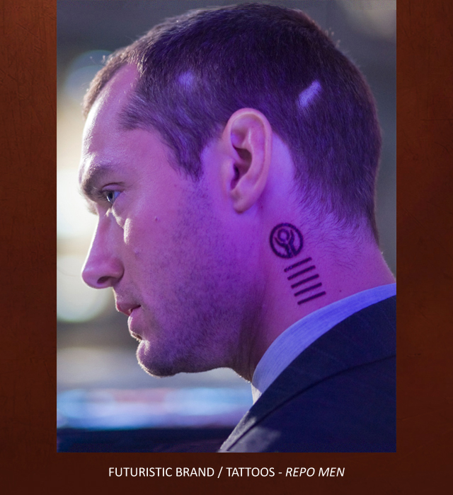 Creative Character Engineering :: Temporary tattoo, Jude Law ...