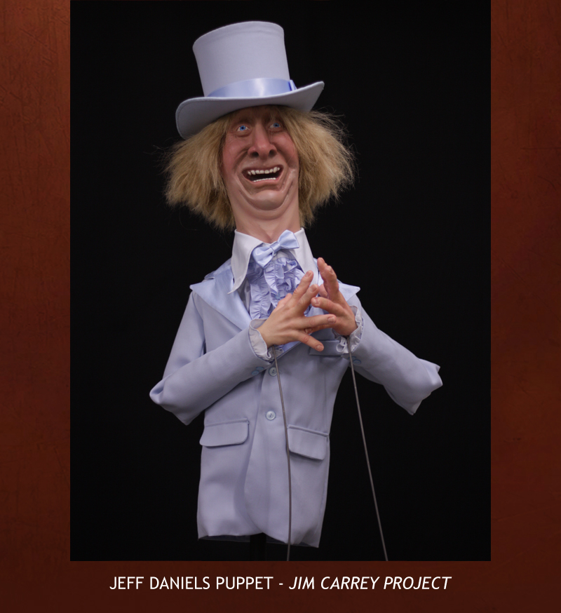 Creative Character Engineering Jeff Daniels Puppet Jim
