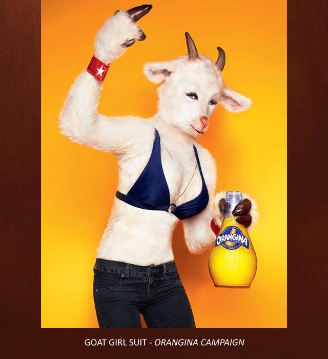 Creative Character Engineering Goat Girl Costume